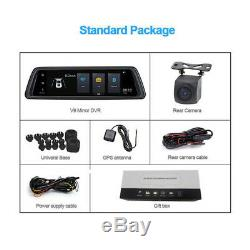10 Android smart Car DVR Recorder Touch Streaming Video RearView Mirror Camera