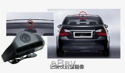 10 Dual Lens 4G Car Recorder 24h Parking Monitor Night Vision+Rear View Camera