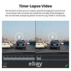 10'' HD Dash Cam Car DVR Mirror 1080P Back Up Camera Video Recorder Night Vision