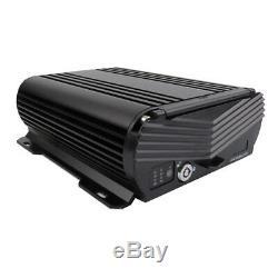 1080P 4CH GPS 2.0MP 2TB Hard Disk Car DVR MDVR Video Recorder 4Camera 7 Monitor