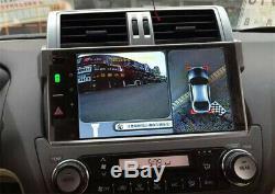 1080P HD Night Vision 360° Bird View Car Camera Panorama DVR Recording System