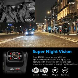 1080P Wifi FHD Dash Cam Infrared Night Vision Dual Lens Dash Camera Recorder New