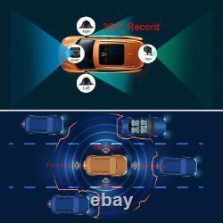 12 Android 9.0 GPS T88 Car Dash Cam HD ADAS Video Recorder Night Vision Camera