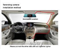 12'' SONY 4K Mirror Dash Camera GPS Front Rear Streaming Media Car DVR Recorder