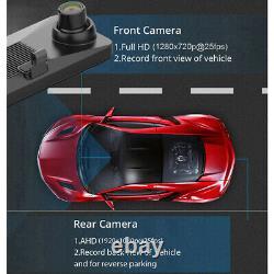124G Android 8.1 Car DVRs Camera GPS Navigation Mirror Recorder mirror dash cam