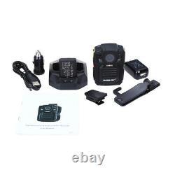 1296P IR Police Security Camera Recorder Infrared Night Version 140° Lens 64GB