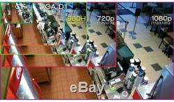 16 Channel XVR Penta-brid 1080P IP Video DVR NVR Recorder OEM Dahua CVI TVI AHD
