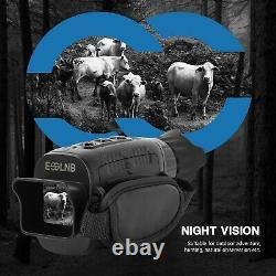 3-12X Night Vision Monocular with 1.5 TFT LCD 7 Grades IR Camera Video Recorder