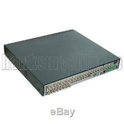 32Ch AHD Hybrid CCTV DVR 1080N NVR Video Recorder for IP/AHD/Analog Camera