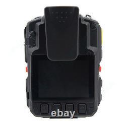 32GB Security Body Worn Camera Police Pocket Video Recorder 1296P Night Vision