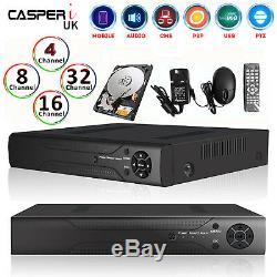 4 8 16 Channel AHD 1080N Video Recorder Smart Security CCTV DVR HD VGA HDMI BNC
