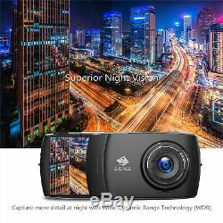 4 Touch HD Dual Lens Dash Cam Car Front Rear Camera Recorder Night Vision 32GB