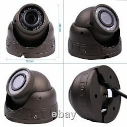 4CH 1080P AHD Car DVR MDVR Video Recorder IR Rear View IR Camera 7 VGA Monitor