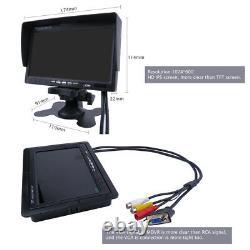 4CH 4G 1080P 2TB HDD Hard Disk Car Mobile DVR MDVR Video Record Camera Monitor