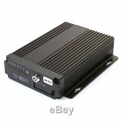 4CH Car Bus Mobile DVR Security Video Recorder +4 IR Camera Cable +7 Screen Set