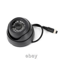 4CH Car Digital DVR Recorder Set 4 IR Night Vision Camera+Cable+RC Control Fast