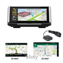 4G ADAS DVR camera Android GPS Navigation FHD 1080P car Central control recorder