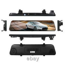 4G Dash Cam Android 8.1 Car Mirror DVR Camera GPS Navigation Recorder ADAS WIFI