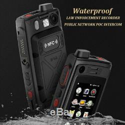 4G LTE Android Rugged Smartphone Walkie Talkie NFC PTT POC Night Vision Recorder