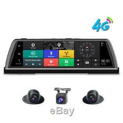 4G smart car driving recorder 4 cameras 360-degree panoramic dash camera car DVR