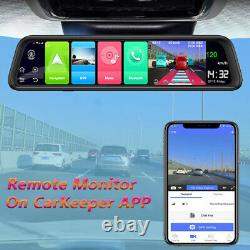 4GB RAM+32GB ROM android car rear view mirror dash camera car video recorder DVR