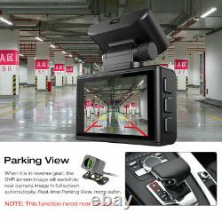4K Dash Cam Recorder GPS WiFi Car Dual Camera 38402160P HD DVR Video G-senor