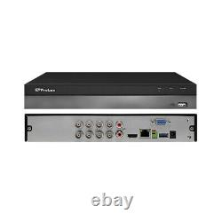 4K H. 265 DVR 4/8/16 Ch 8MP Prolux Hybrid Surveillance Security Video Recorder
