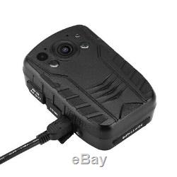 4K HD 1440P Police Body Worn Camera Security Camcorder IR Night Vision Recorder