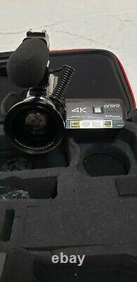 4K WiFi Digital Camera hd Camcorder 24MP 30X Zoom IR Video Recorder with Extra Mic