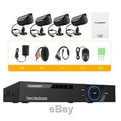 5in1 Security Cloud DVR 4CH 1080p HDMI H. 264 Recorder CCTV Camera System IR-CUT