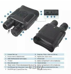 720P IP56 Digital Infrared Night Vision Binocular Video recorder Camera Audio