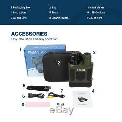 7X31 Digital Night Vision Binocular Camera Video Record With 2 TFT LCD 32G Card