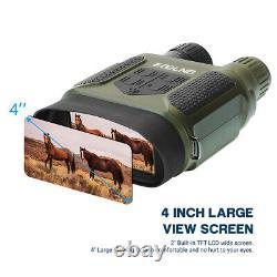 7X31 Night Vision Goggles Binoculars Day & Night Darkness Photo Video Recorder