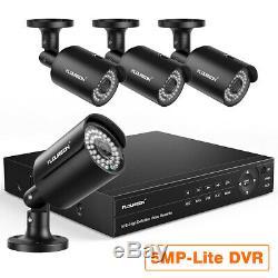 8CH True HD 1080P Video DVR Recorder 4HD 1080P XVI CCTV Camera Security System