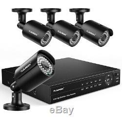 8CH True HD 1080P XVI Camera 6in1 Video DVR Recorder Security CCTV Motion Detect