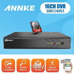 ANNKE 16CH 8CH 4CH 1080P Lite DVR H. 264+ Recorder HDMI Email for Security Camera