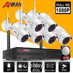 ANRAN Community Security Camera System Outdoor Wireless Home Safety Video Record