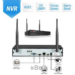 ANRAN Wireless Security Camera System 1080P WIFI Audio Sound 8CH NVR APP P2P IPC