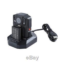 Ambarella A7L50 64GB 1290P HD Recorder Infrared Body Worn Camera External HD Len