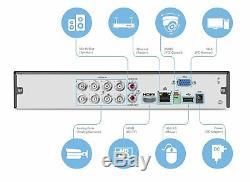 Amcrest 1080-Lite 8CH HD Video Security DVR Digital Recorder AMDVTENL8 1TB HDD