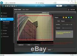 Amcrest NV4108E-HS 4K 8CH POE NVR Network Video Recorder No HDD REFURBISHED