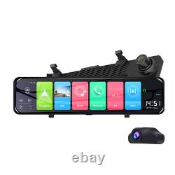 Android 8.1 12 HD Car DVR Dash Cam Camera Video Vehicle Recorder Night Vision