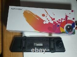 Auto-Vox 9.88'' Car DVR Dash Cam Vehicle Rear View Mirror Backup Camera Recorder