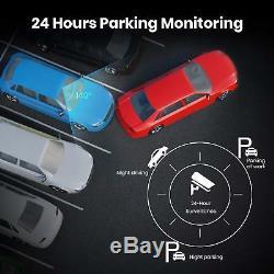 Auto-Vox A1 Uber Dual Lens Car DVR Rear View Mirror Dash Cam Camera Recorder