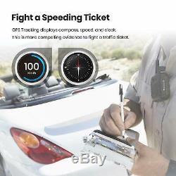 Auto-Vox HD 1080P Dual Lens Car DVR Dash Cam Video Recorder Camera G-sensor
