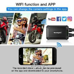 B1M Sony IMX323 Dual Channels 1080P 30FPS Motorbike Wifi Dash Cam Recorder WDR