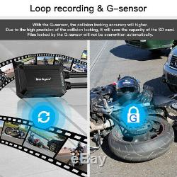 B1M Waterproof Dual Lens 1080P Motorbike Wifi Dash Cam Drive Recorder G-Sensor