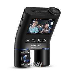 B2W Car Dash Cam Dual Channels FHD 1080P Infrared Night Vision WiFi DVR Recorder