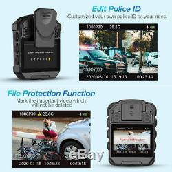 BOBLOV T5 Wearable Police Body Worn Camera File Protection With Audio Recording