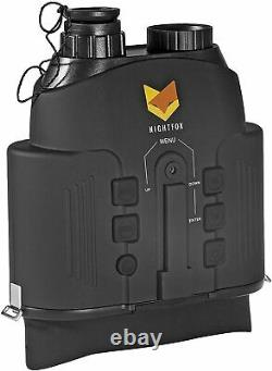Binocular Widescreen Night Vision Digital Infrared 150m Range w Video Recording